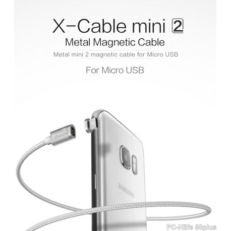 Cable Mini2 Nylon Braided line Magnetic Data Cable Charger